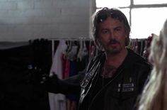 Tommy Flanagan... I could listen AND look at him all day long!!! Chibs sons of anarchy