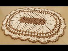 TAPETE OVAL MAIS VENDIDO DO MOMENTO, COM BICO RUSSO, FÁCIL E ECONÔMICO - YouTube Character Art, Diy, Youtube, Crochet Doily Rug, Bear Rug, Crochet Rug Patterns, Crochet Blankets, Adorable Puppies, Dots