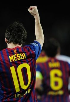 His goal last night was awesome!                                                Messi