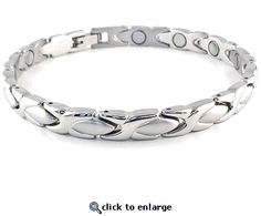 Magnetic Bracelet Stainless Steel Style #32