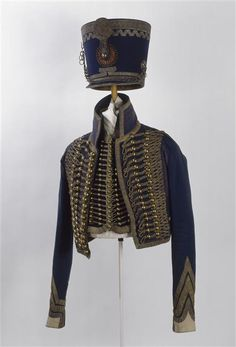 French 5th Hussars, uniform worn by Captain Epinat during the 1806 campaign.