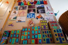 Wall of Fame and a TON of other great ideas for organizing play space.