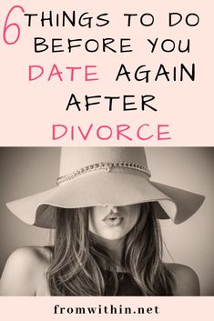 Dating After Divorce: 6 Steps Before You Date Again Dating after divorce is nothing like normal dating. Check out the 6 things that I advice to do before dating after divorce. Dating Tips For Women, Dating Advice, Marriage Advice, Second Marriage Quotes, Marriage Life, Life Advice, Couple Relationship, New Relationships, Relationship Expert
