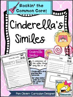 FREE- Cinderella Similes.