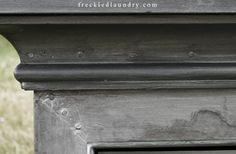 freckled laundry: Faux Zinc Painting Tutorial