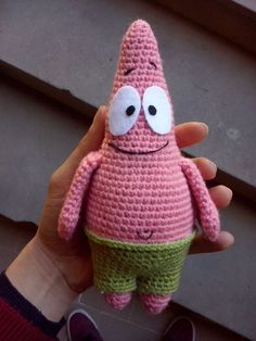 Receita Original:World of Amigurumi Minion Crochet Patterns, Octopus Crochet Pattern, Amigurumi Patterns, Amigurumi Doll, Crochet Motif, Knit Crochet, Crochet Hats, Kawaii Crochet, Crochet Disney