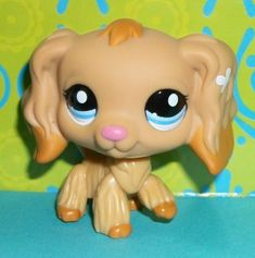 lps spaniel | ... Shop 1716 Tan Cocker Spaniel Puppy Dog Kohls Exclusive S162 LPS | eBay
