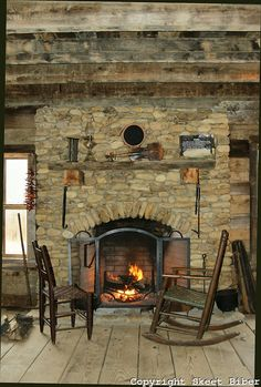 old log cabin with fireplace | old log cabin fireplaces Book Covers