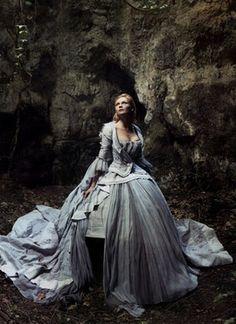 """""""Marie Antoinette"""" - Kirsten Dunst by Annie Leibovitz"""