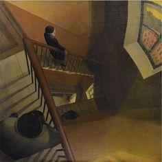 Leonid Chupyatov The Staircase 1920s