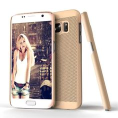 Coque Samsung Galaxy S7 Love Mesh - Gold