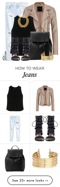 """Untitled #5715"" by doradabrowska on Polyvore featuring One Teaspoon, maurices, Proenza Schouler, MANGO, Zimmermann, H&M and Ben-Amun"