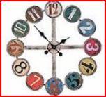 Robert Marks clock2 Clocks, Wall, Home Decor, Decoration Home, Room Decor, Watches, Walls, Clock