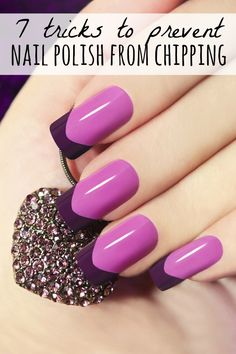 Whether you like to sport acrylic nails, gel nails, crazy nail designs, or more basic nail polish colors (like me!), this collection of tips and tricks is just what you need to teach yourself how to prevent nail polish from chipping. Tip # 6 has been a life-changer for me!