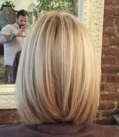 Phenomenal Highlighted Bob Bob Hairstyles And Bobs On Pinterest Hairstyle Inspiration Daily Dogsangcom