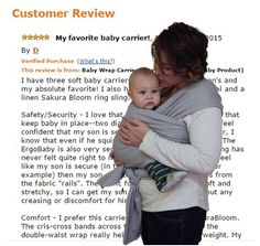 How does the Sassy Stork baby wrap compare to other carriers? Here's a great review that can help you out. http://www.amazon.com/review/R3LH68LC6WG2YV