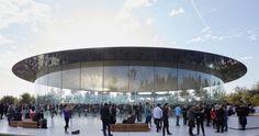Apple Park Architect Credits Jony Ives Design Team as Cocreators of Steve Jobs Theater