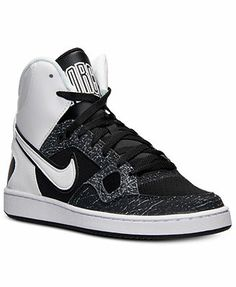 5a5166d01d Nike Men s Son of Force Mid Casual Sneakers from Finish Line Men - Finish  Line Athletic Shoes - Macy s