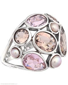 Silpada, I have this ring and it looks sooo amazing on, picture doesn't it do it justice my Best Friend Leanna sells Silpada so I get to try all this stuff on.