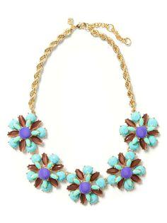Corsage necklace