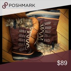 Sorel Joan of Arctic Boots Faux-fur lined, waterproof snow boots. Sorel Shoes Winter & Rain Boots