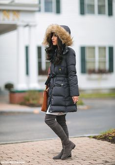 Extra Petite - Fashion, style tips, and outfit ideas Tailored Coat, Extra Petite, Winter Jackets, Puffer Jackets, Puffer Coats, Petite Fashion, Autumn Winter Fashion, Mantel, Winter Outfits