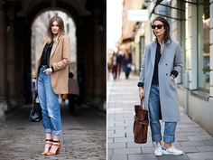 Spotted: Baggy Blues #streetstyle #fashion