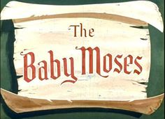 Another Moody Bible Institute Filmstrip from God starts executing His plan to free the people of Israel from Egypt with Moses. Baby Moses, Bible Stories For Kids, Moise, Sunday School, Children, Videos, Youtube, Young Children, Boys