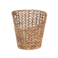 Maybe you're a little off kilter. So is your home décor. This basket will fit in just fine, then, with its asymmetrical brim.  Find the Asymmetrical Basket, as seen in the A Stay at the Landsby Collection at http://dotandbo.com/collections/a-stay-at-the-landsby?utm_source=pinterest&utm_medium=organic&db_sku=90026