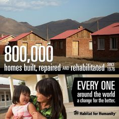 We're building toward 1 million! Habitat celebrates a major milestone, as we raise the walls on our 800,000th home.