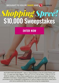 jcpenney shopping spree sweepstakes $5000