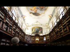 Invasioni digitali alla biblioteca Classense di Ravenna.