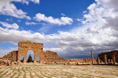 The ancient ruins of Sufetula, Tunisia