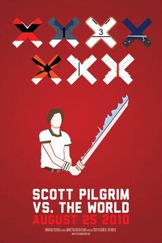 Scott Pilgrim vs the World by printandcopy