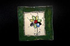 Obkladačka Kvetinka 3 by Kreatura - SAShE.sk - Handmade Dekorácie Painting, Accessories, Art, Art Background, Painting Art, Kunst, Paintings, Performing Arts, Painted Canvas