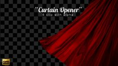 Curtain Opener ...  awards, broadway, cinematic, cloth, curtains opening, elements title, ending, fashion, luxury, movie title, oscar, reveal, show, stage, theater