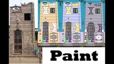 Exterior Color Combinations, Exterior Colors, Village House Design, Village Houses, Modern Small House Design, Front Elevation Designs, Architecture, Painting, Arquitetura