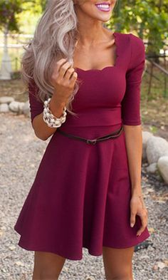 Such a cute dress but needs a different color!!!!