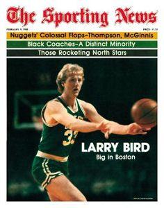 Boston Celtics' Larry Bird - February 9, 1980