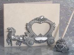 Elegant Silver Wedding Coach 3 PC Wedding Accessory Set #weddingaccessories #fairytalewedding