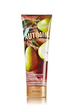 Autumn - Triple Moisture Body Cream - Bath & Body Works - Fortified with our exclusive Triple Moisture Complex of conditioning milk proteins, hydrating rice bran oil and protective acai berry extract, this velvety rich cream provides deep, 24-hour moisture to soften even the driest skin. Our emollient, yet non-greasy, formula deeply conditions, leaving skin moisturized, fragrant and more beautiful than ever before.