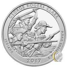 #coins 2017 George Rogers Clark 5 oz Silver Coin | America The Beautiful Collection please retweet
