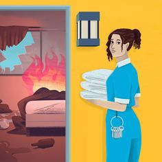 I was a motel housekeeper. Here's how you're ruining our day.