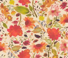 Martine Multi-coloured wallpaper by Clarke & Clarke