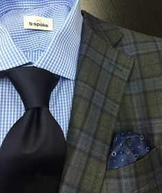 Gladson fabric, Geoff Nicholson tie. All clothing made by b.spoke. www.bspokestyle.com