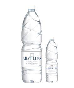Nouveau packaging Abatilles 2014 Agua Mineral, Mineral Water, Water Bottle Labels, Pet Bottle, Water Shape, Water Branding, Food Packaging Design, Bottle Design, Label Design