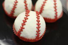 baseball cakeballs