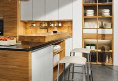 linee kitchen - makes small rooms look larger | TEAM 7