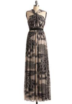 Love this indie designer maxi dress