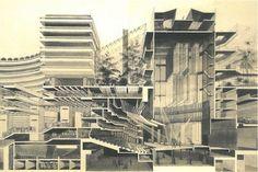 Barbican Cross Section Print – Barbican Shop